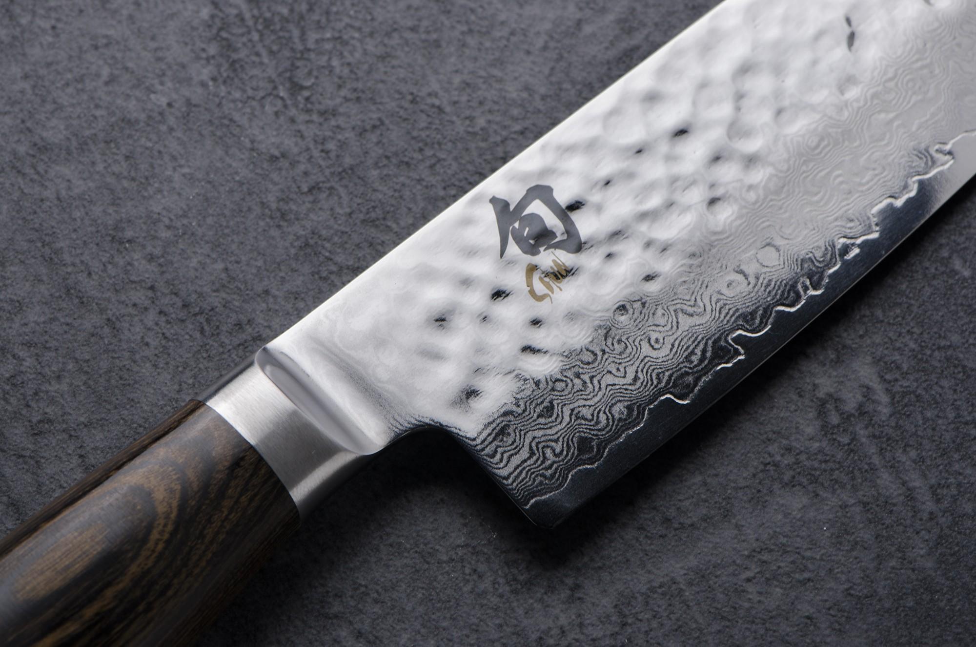 Cuchillos de acero de Damasco